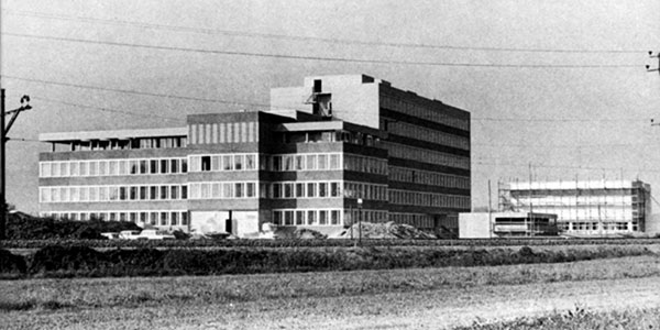 Eawag main building 1970