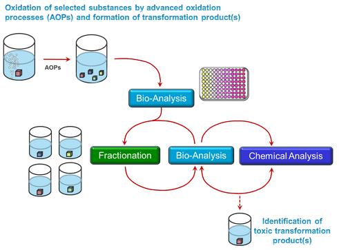 Image: effect directed approach to identify toxic degradation products