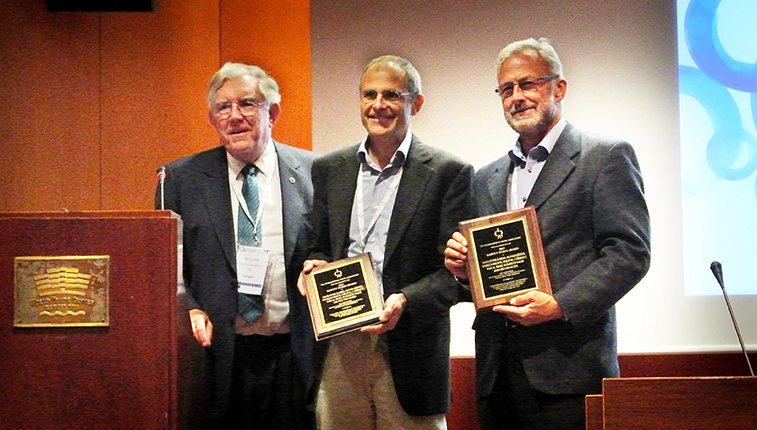 Harvey M. Rosen Memorial Award for Lisa Salhi and Urs von Gunten