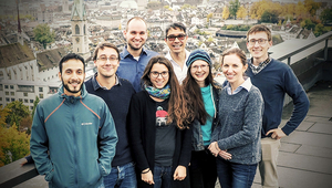 Research team around Max Maurer (SWW). The team published a very successful review paper, which helped to ensure that some team members received the mobility grants from the SNSF. Front from left to right (Omar, Sven, Lena, Mariane, Rachel) back (Philipp, Max, Matthew).