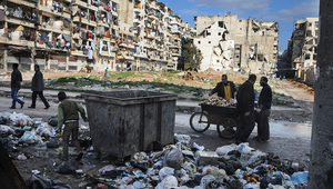 Outskirts of Aleppo. (Photo: ICRC)