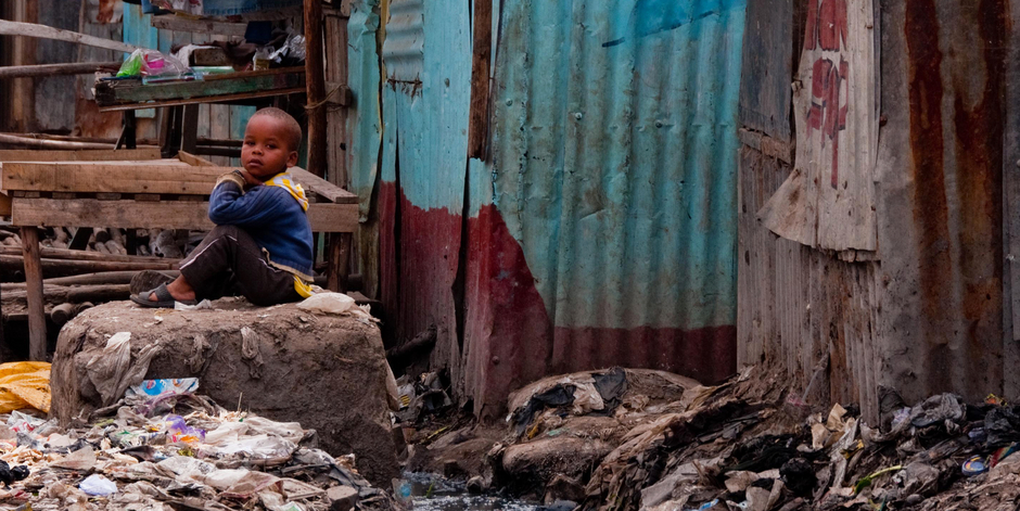 Child in Nairobi Slum