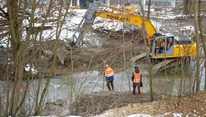 Restoration of the Chriesbach stream in Dübendorf. Photo: Peter Penicka, Eawag