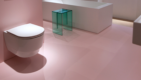 "The revolutionary interior of the ""save"" toilet cannot be seen from the outside. (Photo: Laufen)"